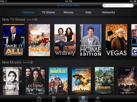 twc ipad apple tv Apple TV will soon have Time Warner Cable channels on board