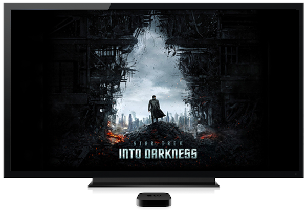 apple tv star trek into darkness You can now watch Star Trek Into Darkness on your Apple TV
