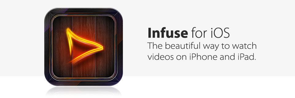 infuse banner Infuse has been updated to 1.3 : Hello, Airplay!