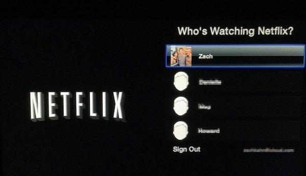 netflix user profiles apple tv Netflix personalised user profiles now available on Apple TV