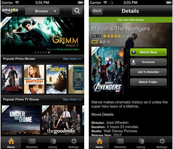 amazon instant video airplay You can now watch Amazon Instant Video content on your Apple TV via any iOS device