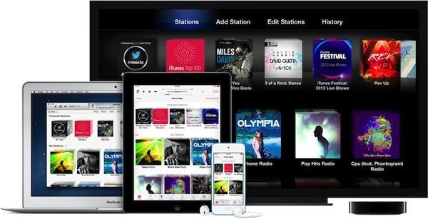 itunes radio apple tv Apple TV software update 6.0 released with iTunes Radio, iTunes Music Store, AirPlay from iCloud and more