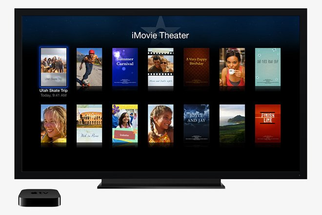 13.10.22 iMovie Theater Apple TV update adds new iMovie Theater channel