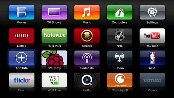 raspberry pi on apple tv Apple TV hacker discovered how to add custom sites, the hack gets closed quickly
