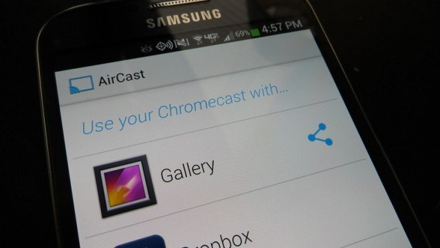 allcast AllCast app allows Android AirPlay to Apple TV