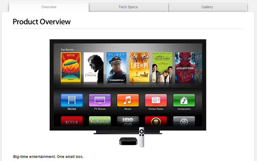 apletv New rumors on Apple TV 4 surface as Apple TV gains special profile at Apple official website