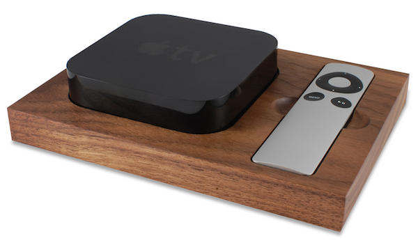 apple tray tv holder Giveaway: Win an Apple Tray   a beautiful Apple TV holder