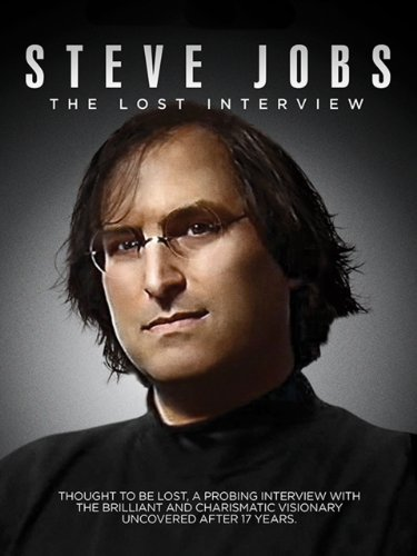 41tEcuEUrfL. SX500  Steve Jobs: The Lost Interview now available on Amazon Instant Video