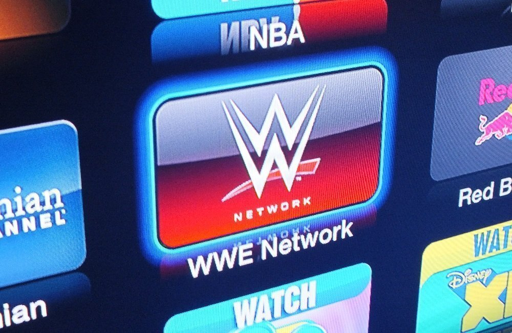 WWE Network Apple TV 1 WWE Network now showing on Apple TV