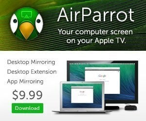 AirParrot for Apple TV