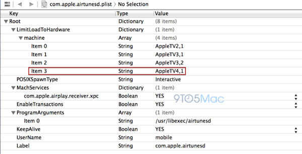 apple tv 4 ios 7 Apple TV 4 references spotted in iOS 7 builds