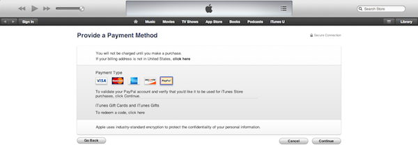 invalid response from device itunes