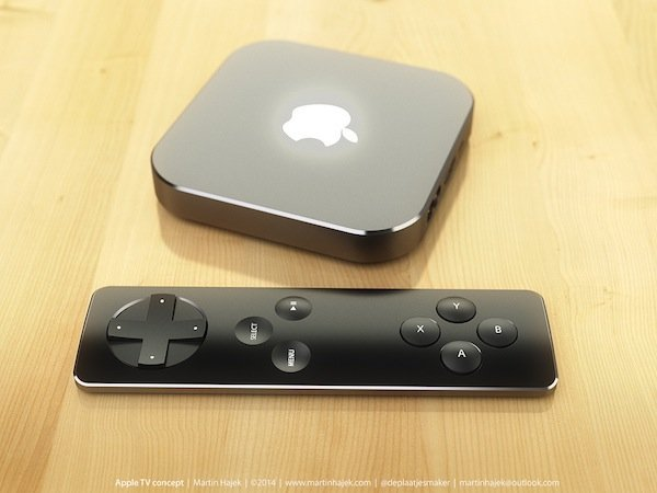 apple tv gaming controller Martin Hajeks new Apple TV concept: turning the remote into a gaming controller