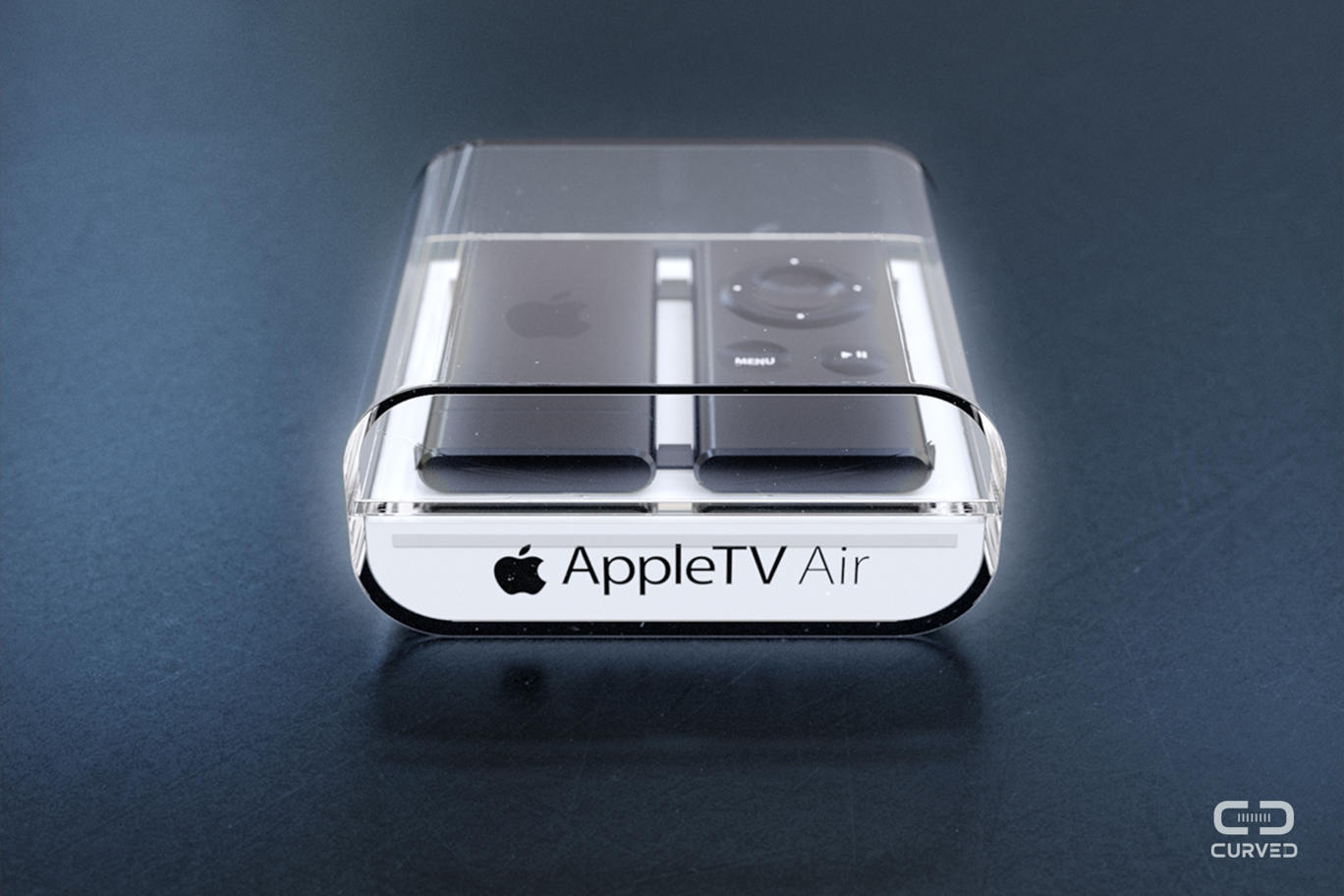 appletvair B1 New Apple TV Air concept turns Apple TV into a Chromecast like HDMI dongle