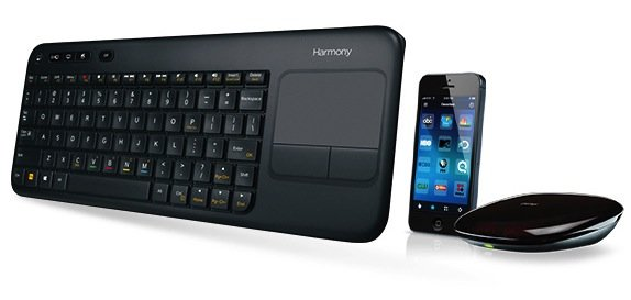 harmony smart keyboard apple tv Logitech unveils Harmony Smart Keyboard for Apple TV