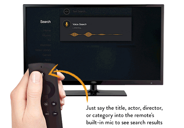 voice search How to get Amazon Fire TV style voice search on Apple TV