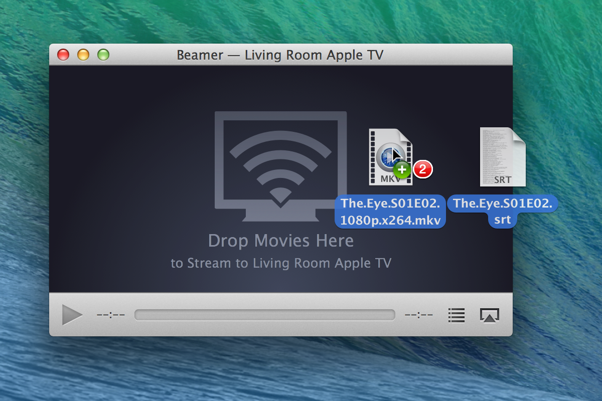 Beamer app for Mac AirPlay