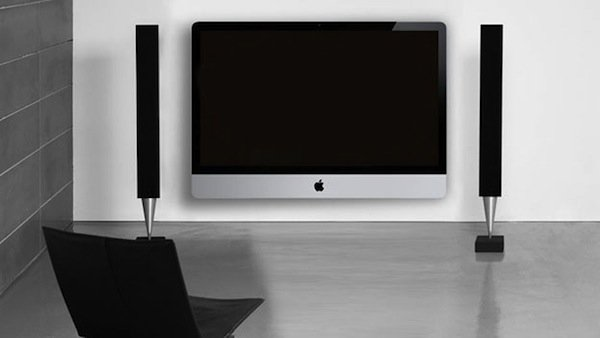 Apple Tv set - concept