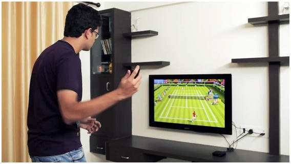 Motion Tennis for Apple TV