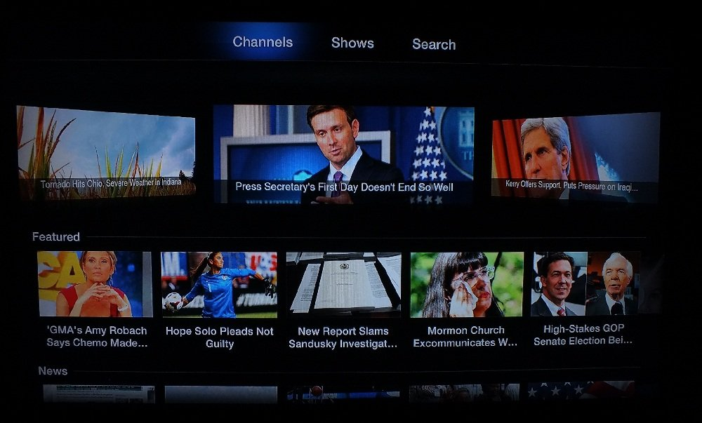 AOL On Apple TV Channel