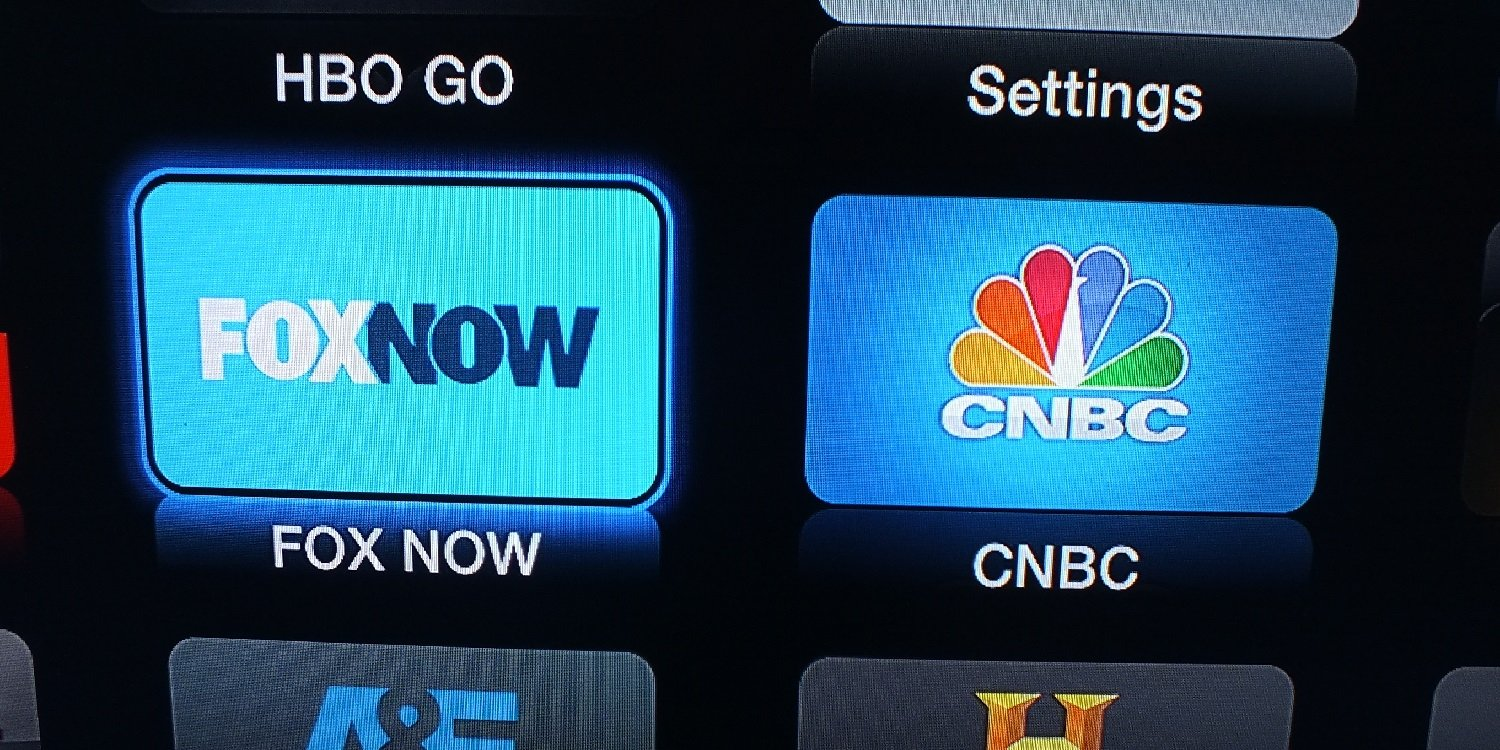 1 FOX Now and CNBC channels arrive on Apple TV