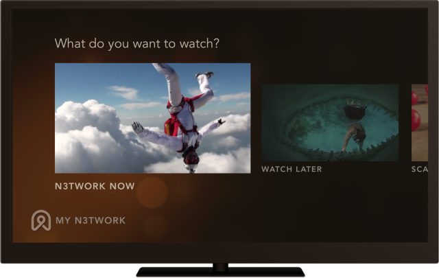 n3twork N3twork for iOS brings its network to Apple TV via AirPlay