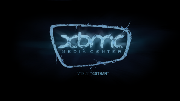 xbmc gotham 13.2 splash 600x336 XBMC 13.2 Gotham for Apple TV 2 is out