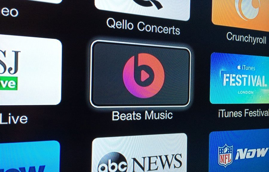 Beats Music on Apple TV