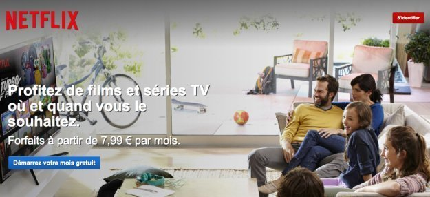 Netflix on Apple TV in France