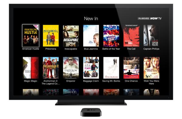 now tv apple tv NOW TV adds Movies and Entertainment passes to their Apple TV channel