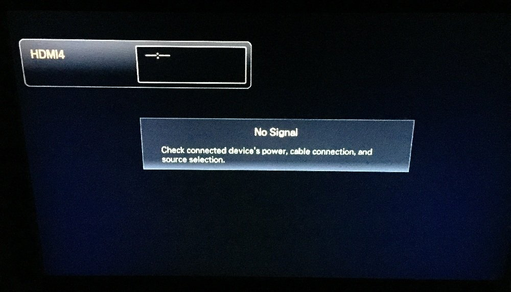 Apple TV Video error