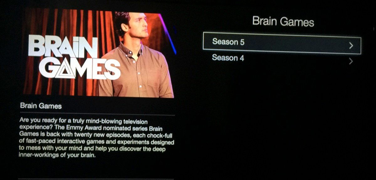 Nat Geo TV Channel - Apple TV - Brain Games