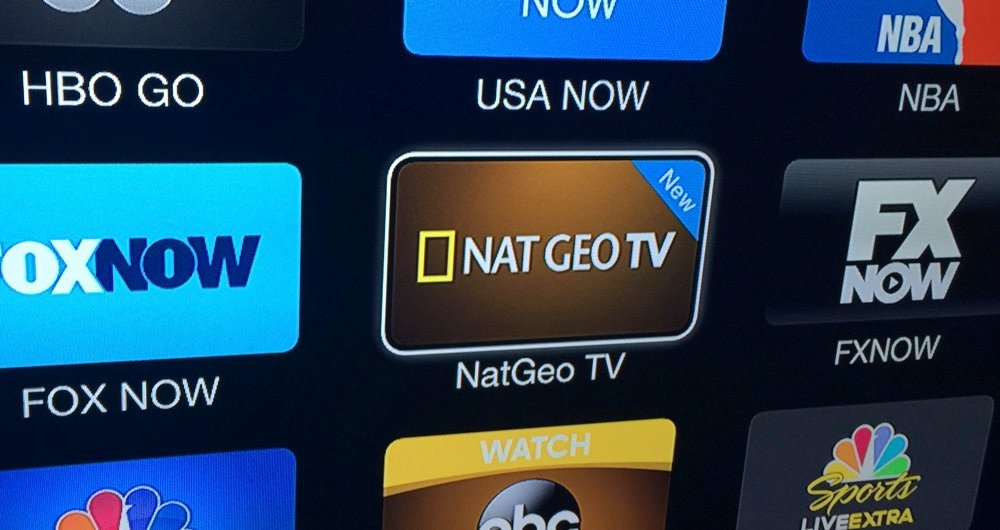 Nat Geo TV Channel - Apple TV - Icon