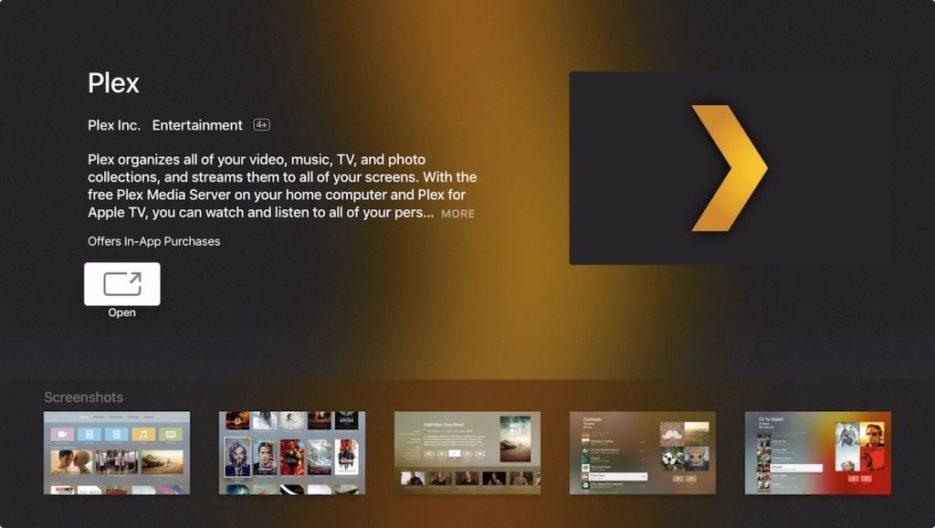 infuse app on apple tv