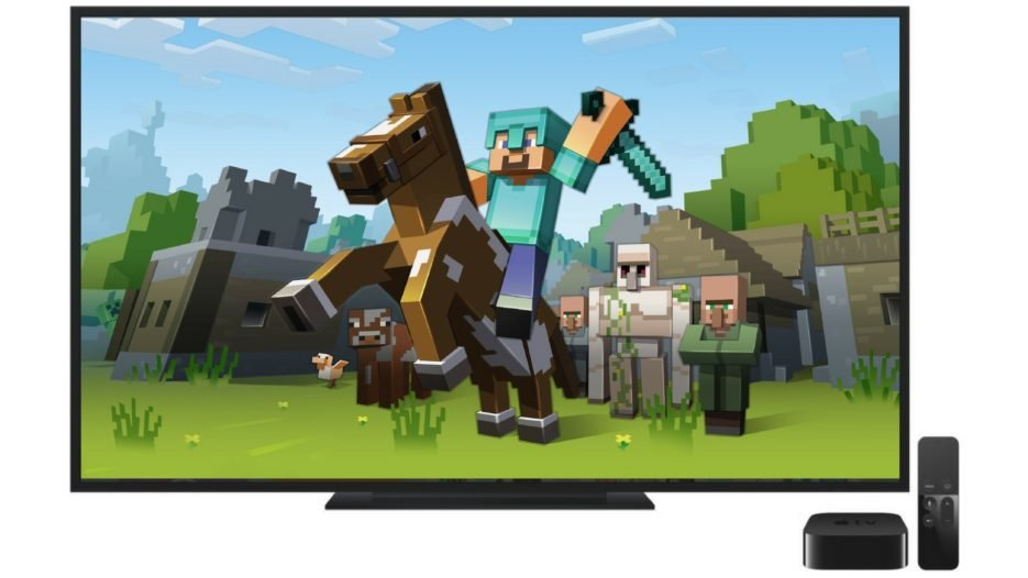 Minecraft Apple TV