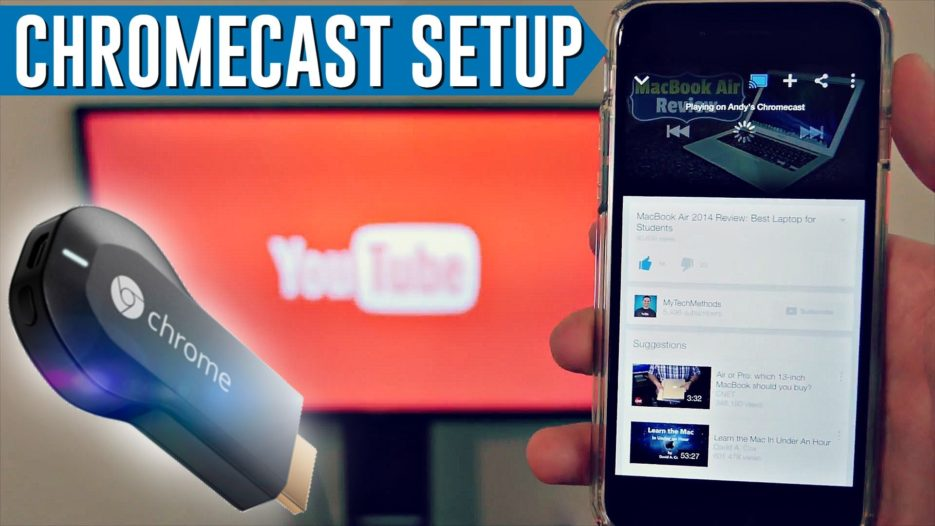 How to Connect Chromecast to your TV - Apple TV Hacks