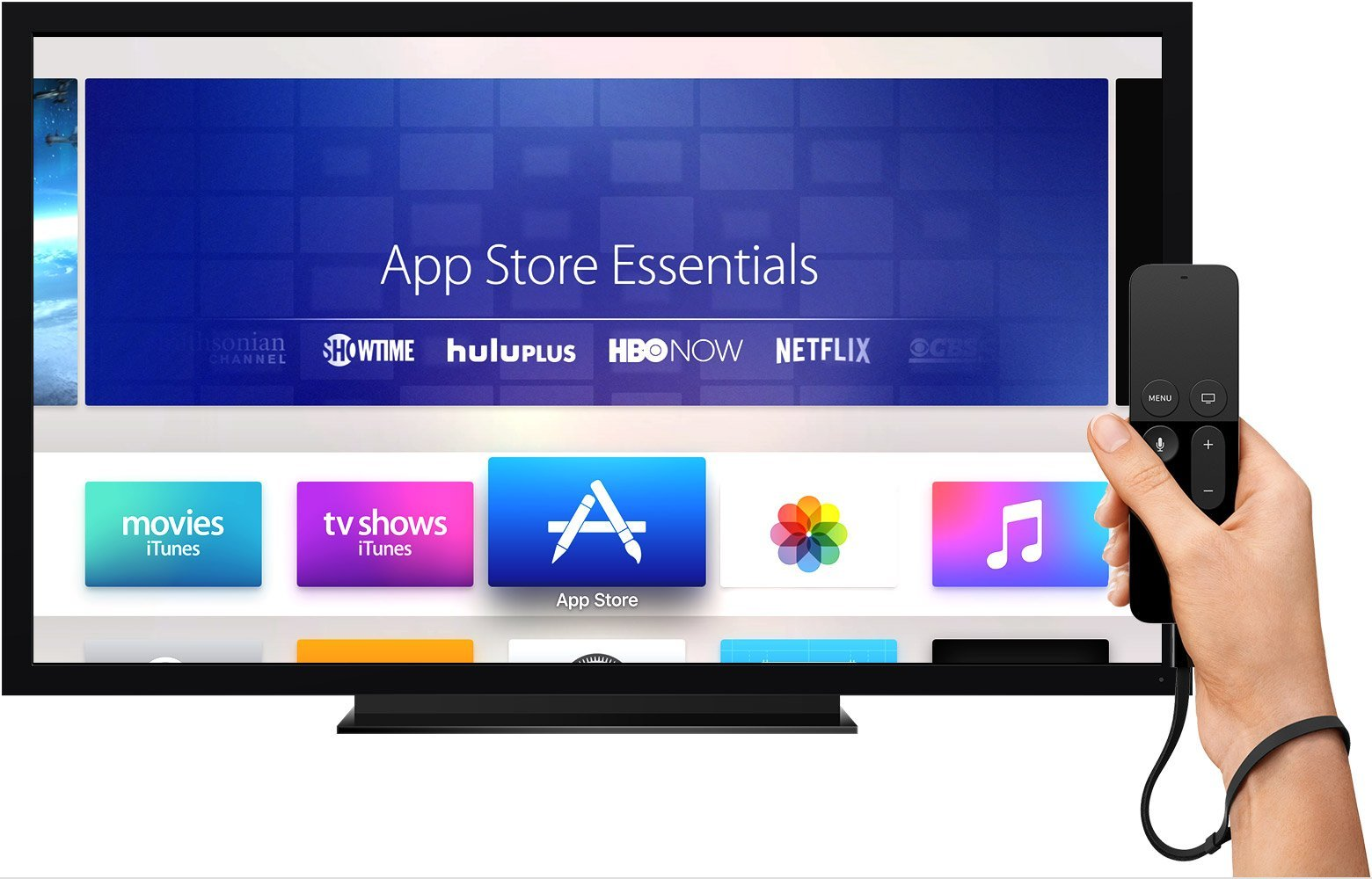 apple tv 4 apps streaming