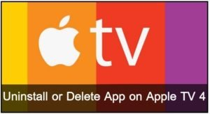 Apple TV Delete Apps