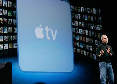 Apple TV and Steve Jobs