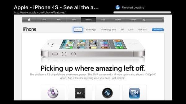 aTV Flash (black) 1.0 for Apple TV 2 - Web Browser