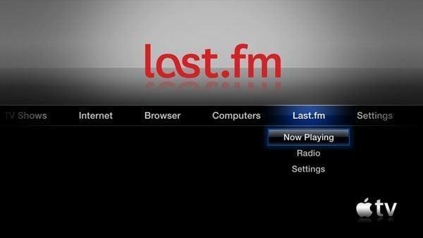 aTV Flash (black) 1.0 for Apple TV 2 Last.fm