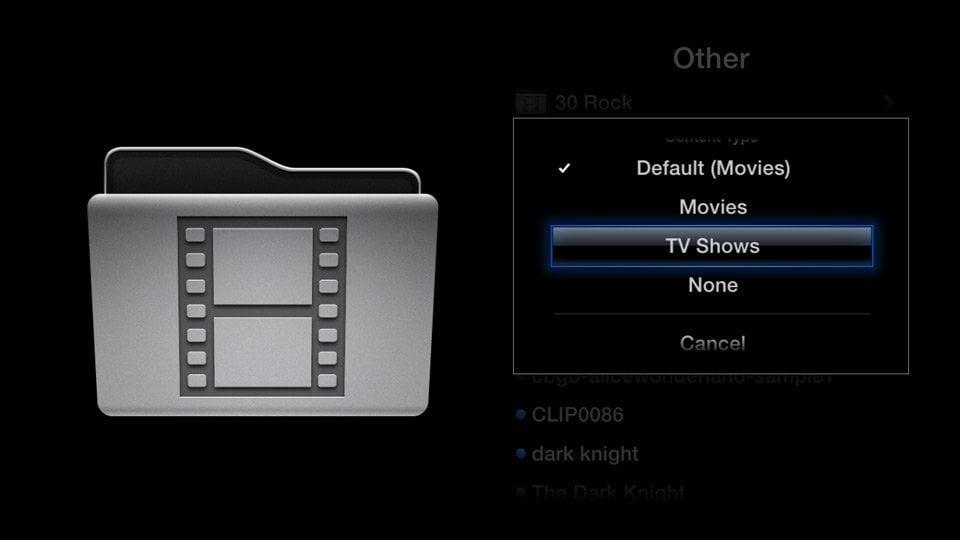 Media Player0.9.4 for Apple TV 2