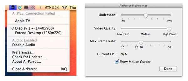 AirPlay Mirror your Mac's screen to Apple TV with AirParrot