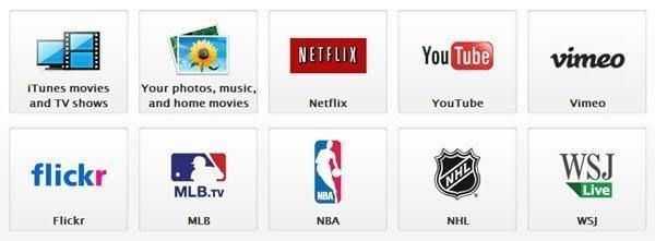 Apps for Apple TV