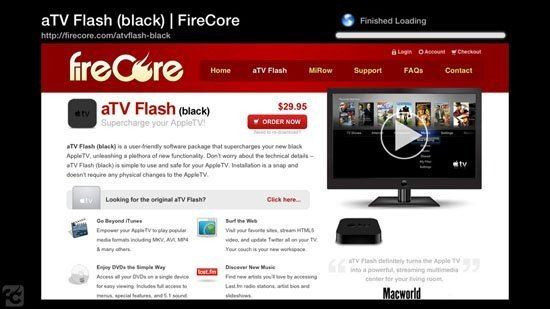 aTV Flash (black) for Apple TV – Supercharging Your Apple TV (Review)