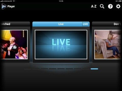 ITV Player app