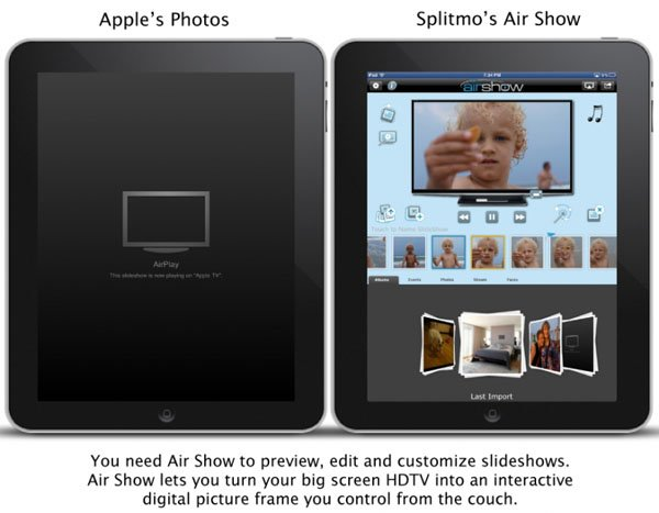Air Show photo editing app for iOS and Apple TV updated with