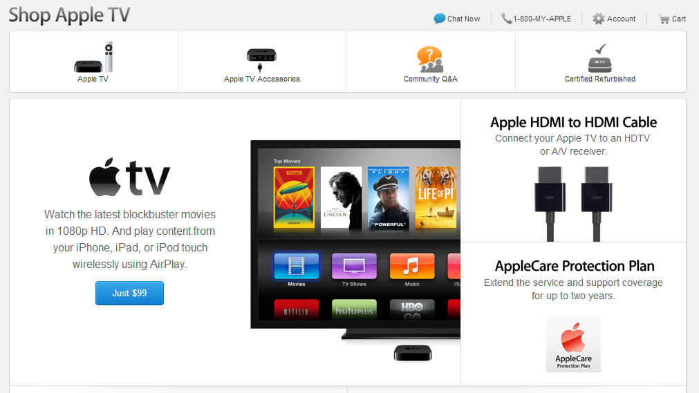 New rumors on Apple TV 4 surface as Apple TV gains special profile