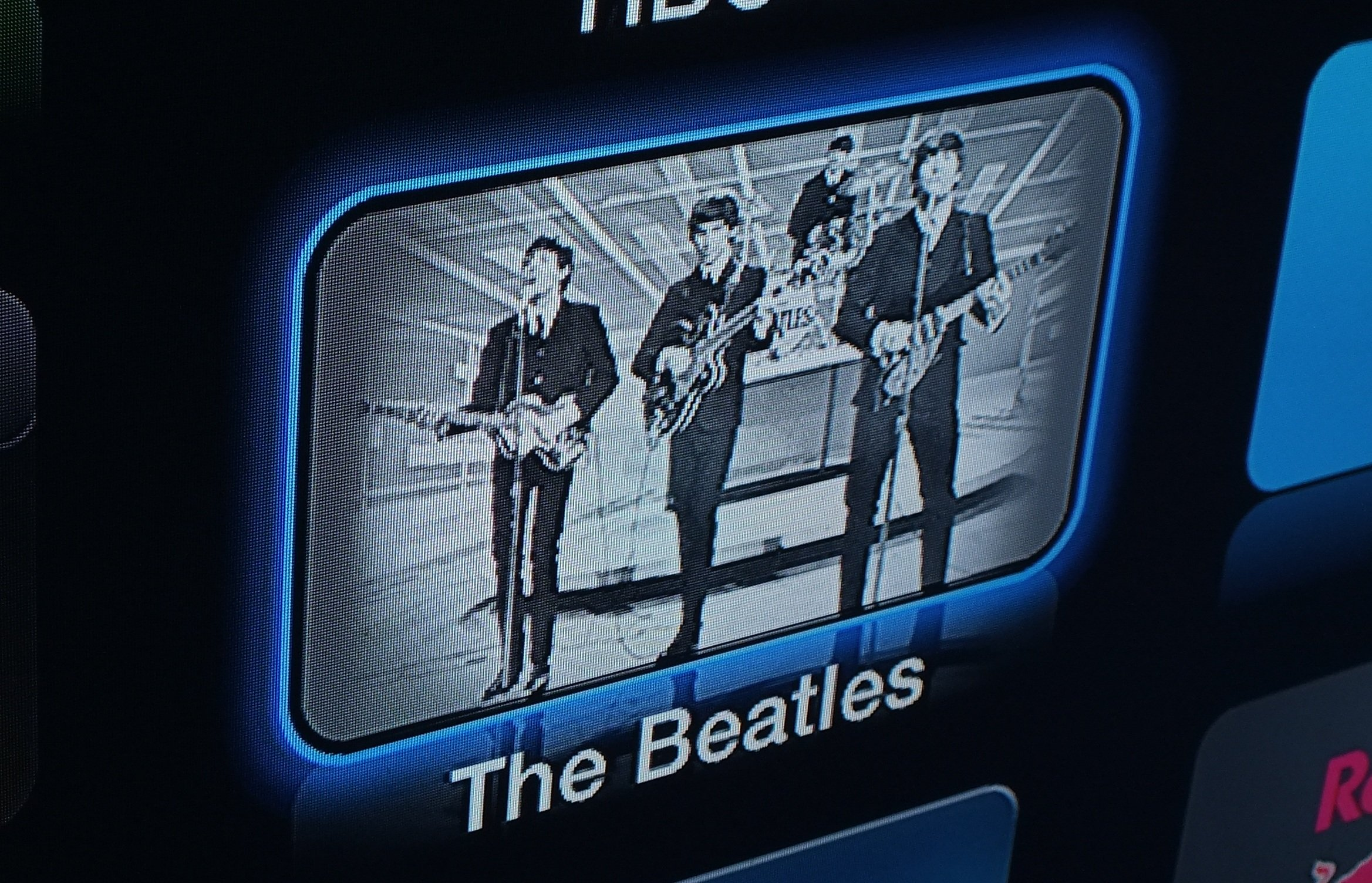 The Beatles channel on Apple TV