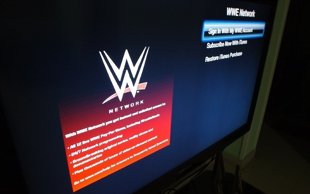 WWE Network Apple TV 2